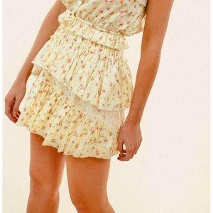 LOVESHACKFANCY Genieve Skirt